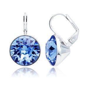 Bella Earrings Light Sapphire Swarovski® Crystals